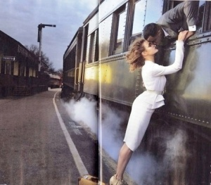 Albanny Korrow woman-man-train