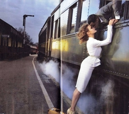 Albanny Korrow woman-man-train